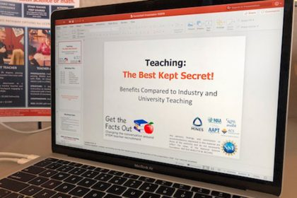 presentation for faculty
