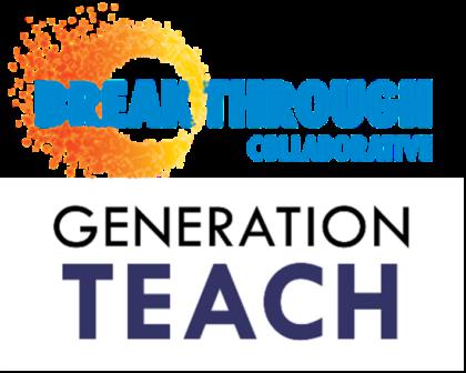 Breakthrough Collaborative logo, Generation Teach logo